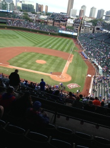 Wrigley field wow